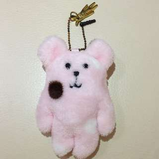 淡粉紅色超可愛手提電話掛飾公仔 Cutie Phone Hanger Doll / Bag Decoration Hanger Doll