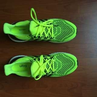 Men's Adidas Ultra Boost Neon Yellow Rare