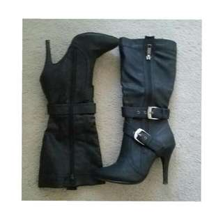 Black High Heel Boots (5)