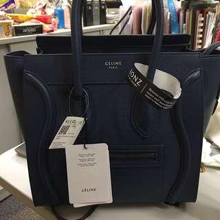 Celine Micro Navy 藍 袋