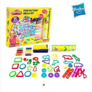 Hasbro Play-Doh Fun Factory Mega Set