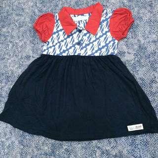 Reprice Dress Batik