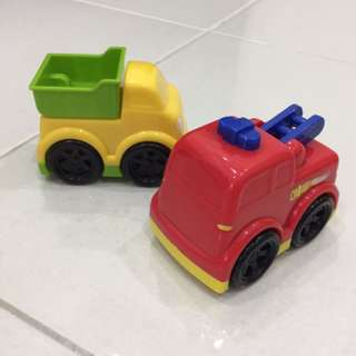 Set Of Baby Toy Cars