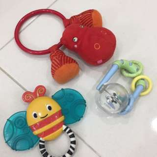 Set Of Baby Rattle Toys
