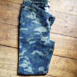 Penshoppe Camouflage Skinny Pants