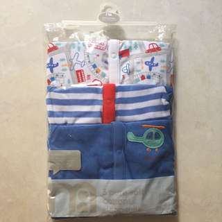 Mothercare's Sleep Suits Pack Of 3