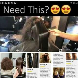 (In stock)Hair Steam Straightener