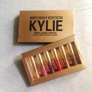 Kylie Lip Kit birthday edition