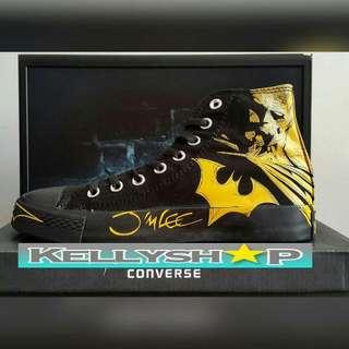 Converse Batman Black Yellow
