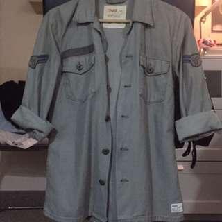 Aritzia Military Shirt
