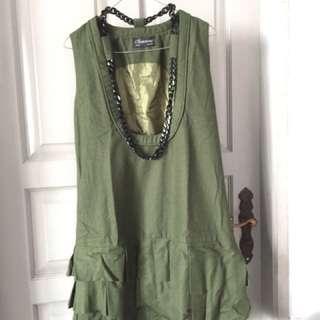 Green Outer Dress