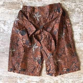 Celana Batik Pendek