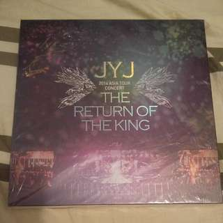 JYJ 2014 ASIA TOUR CONCERT THE RETURN OF THE KING