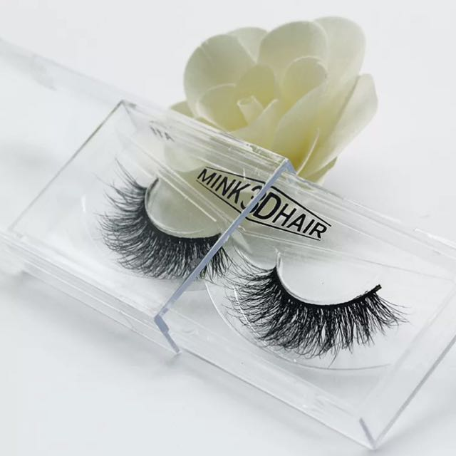 100% 3D Real Mink Soft Long Eyelashes