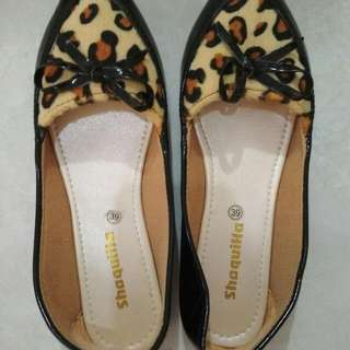 Flat Shoes Leopard