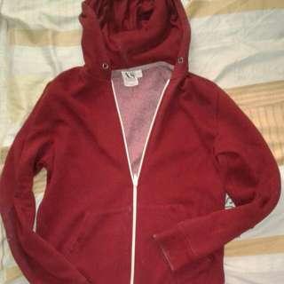 Topman Maroon Jacket Xs