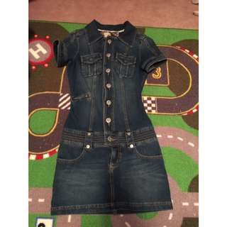 Authetic GUESS Jean Dress