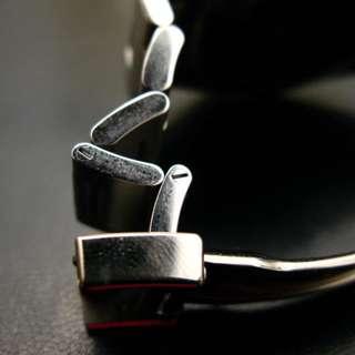20mm Steel FlipLock Oyster Bracelet Band For Men Rolex GMT-Master Explorer Watch