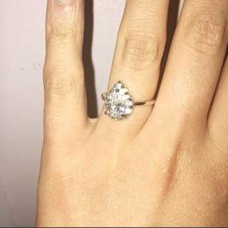 Oval/pear Shaped Ring