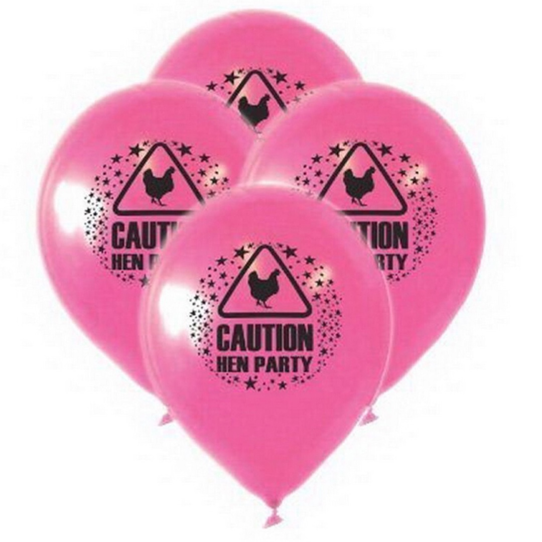 10 Hens Night Party Balloons. BRAND NEW