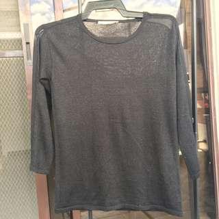 Giordano See-through long sleeves
