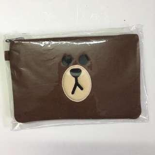 Line Friends - Brown Pouch
