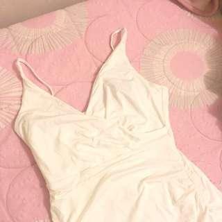 KOOKAI WHITE BODYCON DRESS