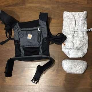 Ergo揹巾+心型保護墊不拆售