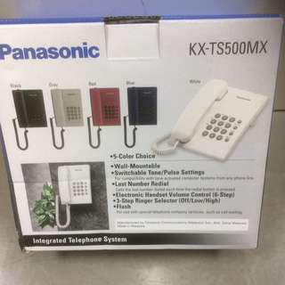 New Panasonic Corded Phone. White Color. Include Manual And Warranty Card.
