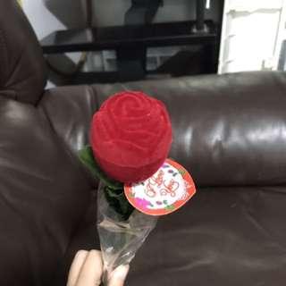 玫瑰花戒指盒