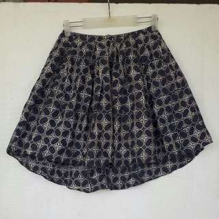 Batik Skirt In Blue Size M