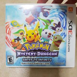 Pokemon Mystery Dungeon Gates To Infinity Nintendo 3ds