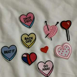 Iron On Patches Lot