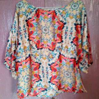 Boho Printed Blouse