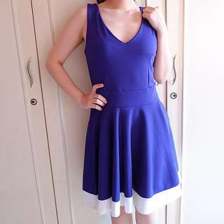Indigo Blue Premium Dress