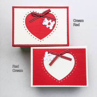 Gift Box 3in 1 Heart Bear