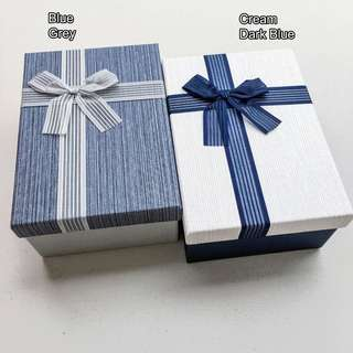 Gift Box 3in1 Rectangular with Ribbon