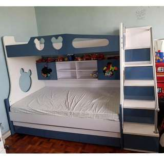 Double Deck Kids Bed