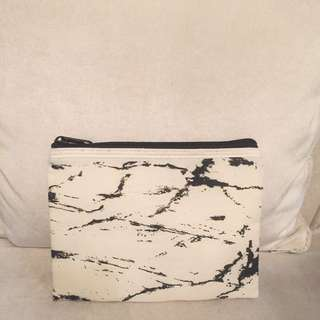 New With Box, Marble Makeup Pouch (super Murah)
