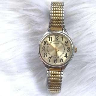 Preloved Timex Gold Watch