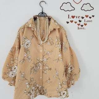 Kode : 361-03 Zara look a like blouse