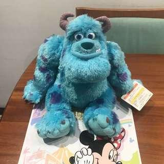 東京迪士尼 毛怪玩偶