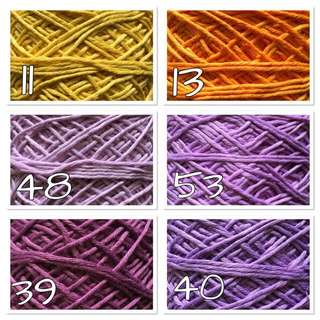 Balinese Cotton DK Size Yarn