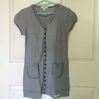 Striped Abercrombie Top