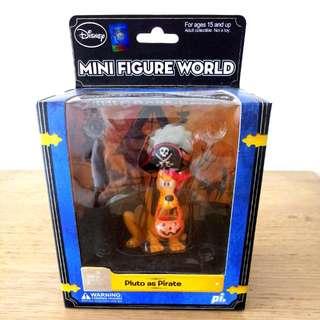 Disney Mini Figure World - Pluto as Pirate