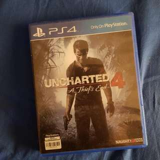 Uncharted 4: A Thief's End PS4 BD