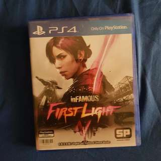 inFamous: First Light PS4 BD