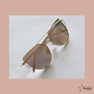 Bonnie Gold Kacamata Fashion ( Sunglasses )