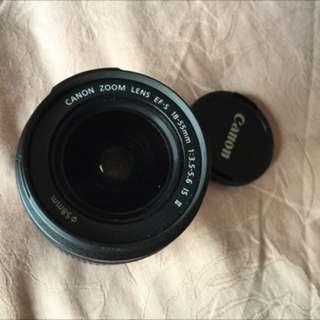 🚚 Canon 18-55 Lens