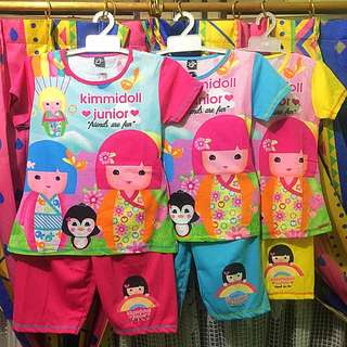 Kimmi Doll Stelan Anak / Baju Anak / Sepasang